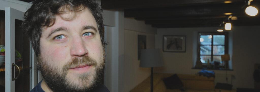 Cedric Metez - Sekretär der Adhoc Wohngenossenschaft
